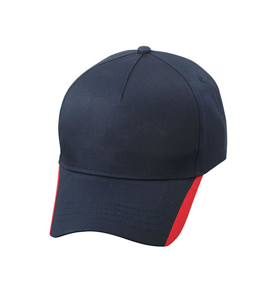 Czapka MB6502 Two Tone Cap - 6502_navy_red_MB - Kolor: Navy / Red