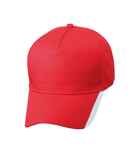 Czapka MB6502 Two Tone Cap - 6502_red_white_MB - Kolor: Red / White