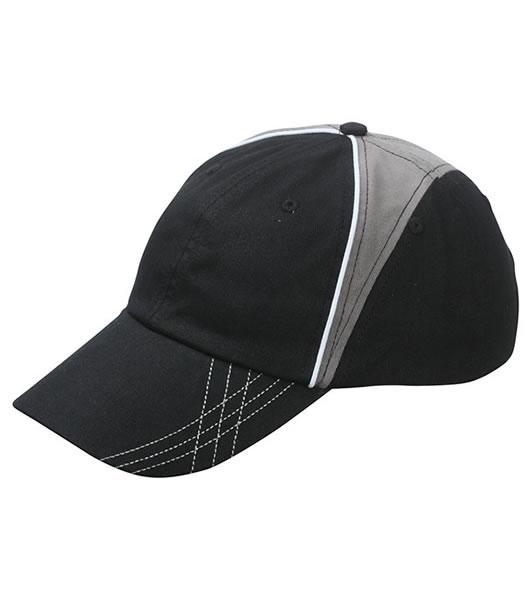Czapka MB6504 Arrow Cap - 6504_black_grey_white_MB - Kolor: Black / Grey / White