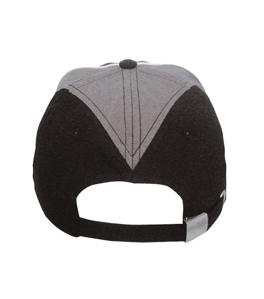 Czapka MB6504 Arrow Cap - 6504_detale_MB - Kolor: Black / Grey / White