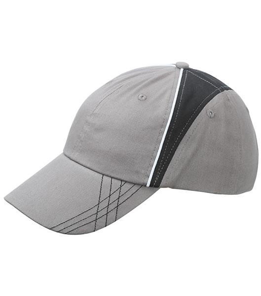 Czapka MB6504 Arrow Cap - 6504_grey_black_white_MB - Kolor: Grey / Black / White