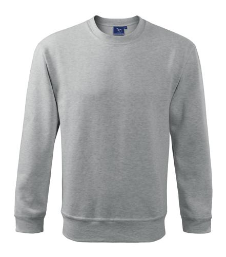 Bluza dresowa A 406 ESSENTIAL 300 - 406_03 A - Kolor: Jasno szary melanż