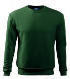 Bluza dresowa A 406 ESSENTIAL 300 - 406_06 A Zieleń butelkowa