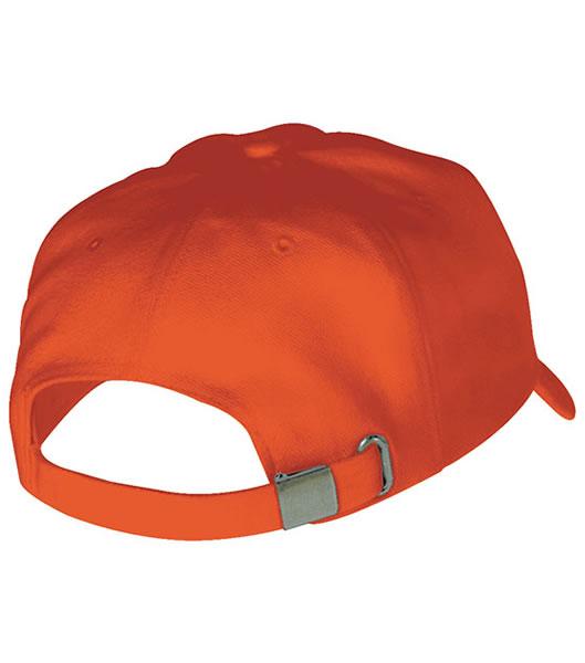 Czapka MB6526 5 Panel Sandwich Cap - 6526_detale_MB - Kolor: Orange / White