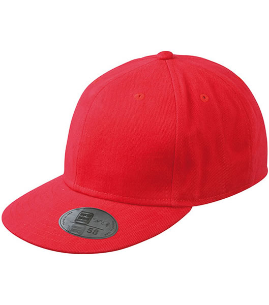 Czapka MB6542 Tailored Cap - 6542_red_MB - Kolor: Red