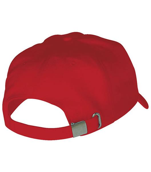 Czapka MB6553 Badge Cap - 6553_red_white_MB - Kolor: Red / White