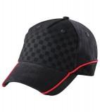 Czapka MB6560 Racing Cap Embossed - 6560_black_black_red_MB Black / Black / Red
