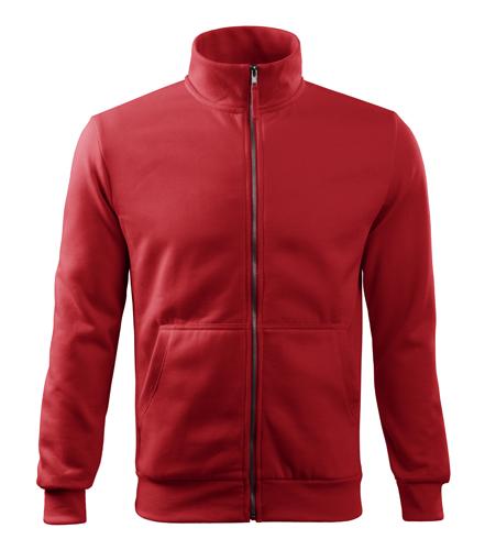 Bluza dresowa A 407 ADVENTURE  - 407_07 A - Kolor: Czerwony
