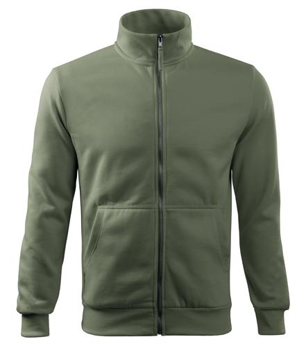 Bluza dresowa A 407 ADVENTURE  - 407_09 A - Kolor: Khaki