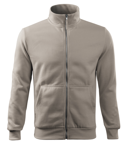 Bluza dresowa A 407 ADVENTURE  - 407_51 A - Kolor: Lodowo siwy