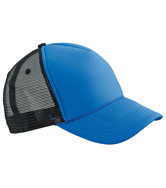 Czapka MB6550 Retro Mesh Cap - 6550_royal_black_MB - Kolor: Royal / Black