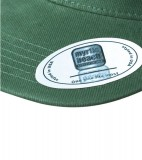 Czapka MB6509 6 Panel Flat Peak Cap - 6509_detale_MB Dark green