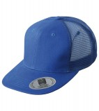 Czapka MB6509 6 Panel Flat Peak Cap - 6509_royal_MB Royal