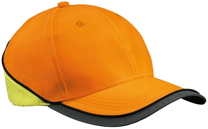 Czapka MB036 Neon-Reflex-Cap - 036_neonorange_neonyellow_MB - Kolor: Neon orange / Neon Yellow