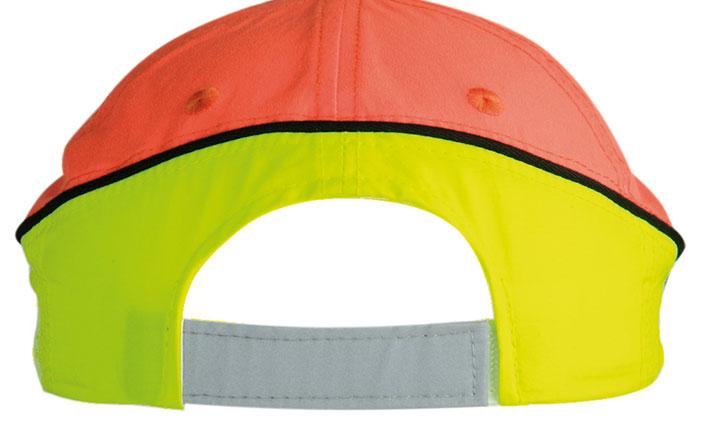 Czapka MB036 Neon-Reflex-Cap - 036_detale_MB - Kolor: Neon yellow / Neon orange