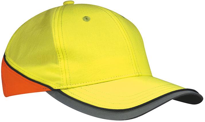 Czapka MB036 Neon-Reflex-Cap - 036_neonyellow_neonorange_MB - Kolor: Neon yellow / Neon orange