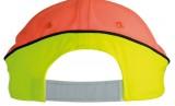 Czapka MB036 Neon-Reflex-Cap - 036_detale_MB Neon yellow / Neon orange