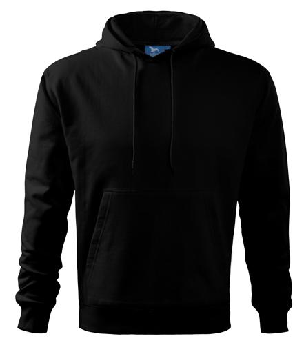 Bluza dresowa A 405 HOODED SWEATER 320 - 405_01 A - Kolor: Czarny