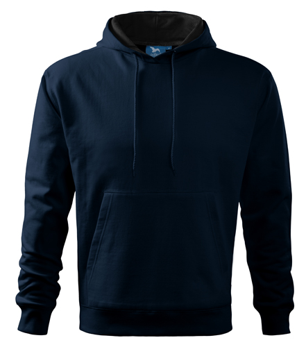 Bluza dresowa A 405 HOODED SWEATER 320 - 405_02 A - Kolor: Granatowy