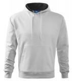 Bluza dresowa A 405 HOODED SWEATER 320 - 405_00 A Biały
