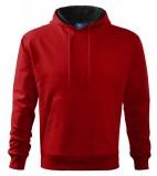 Bluza dresowa A 405 HOODED SWEATER 320 - 405_07 A Czerwony