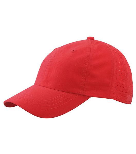 Czapka MB6538 Laser Cut Cap - 6538_red_MB - Kolor: Red