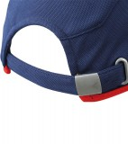 Czapka MB6544 Running Cap 4 Panel - 6544_detale_MB Navy / Red