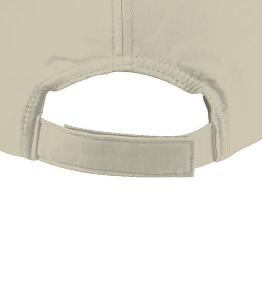 Czapka MB6135 6 Panel Polyester Peach Cap - 6135_detale_MB - Kolor: Beige