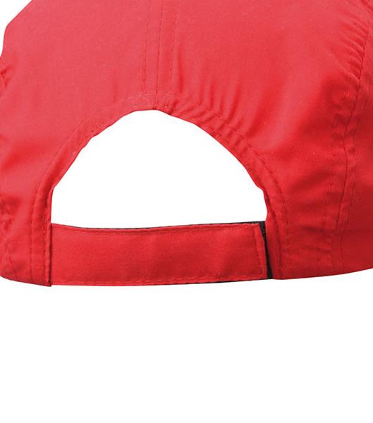 Czapka MB6522 Sportive Cap - 6522_detale_MB - Kolor: Red / Light grey