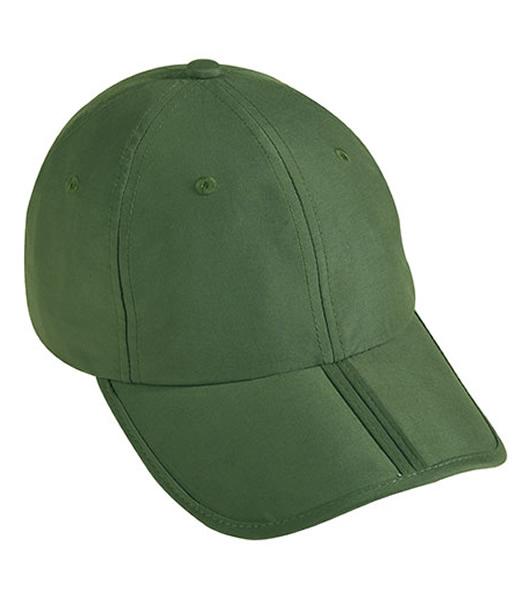 Czapka MB6155 Pack-a-Cap - 6155_dark_green_MB - Kolor: Dark green
