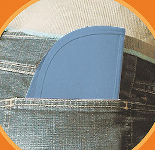 Czapka MB6155 Pack-a-Cap - 6155_detale_MB - Kolor: Light blue