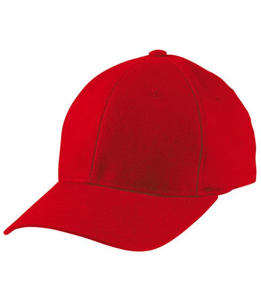 Czapka MB6181 Oryginal Flexfit Cap - 6181_red_MB - Kolor: Red