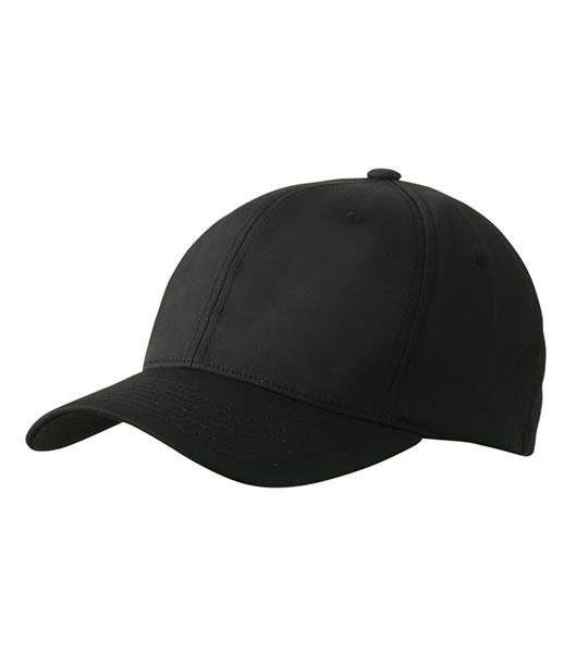 Czapka MB6183 High Performance Flexfit Cap - 6183_black_MB - Kolor: Black