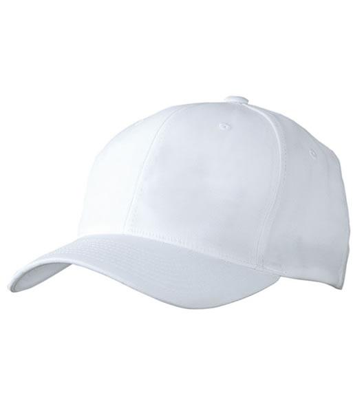 Czapka MB6183 High Performance Flexfit Cap - 6183_white_MB - Kolor: White