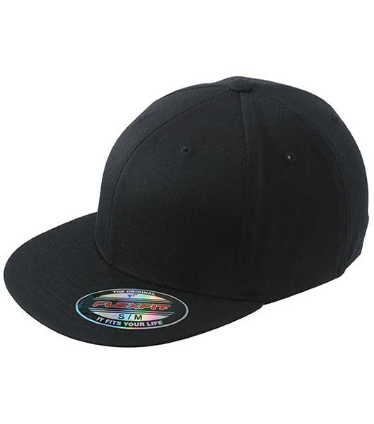 Czapka MB 6184 Flexfit Flatpeak Cap - 6184_black_MB - Kolor: Black