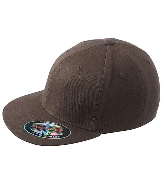 Czapka MB 6184 Flexfit Flatpeak Cap - 6184_dark_brown_MB - Kolor: Dark brown