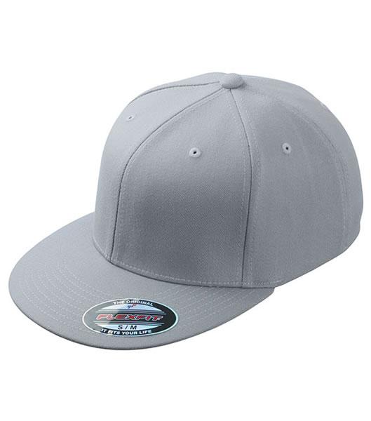 Czapka MB 6184 Flexfit Flatpeak Cap - 6184_light_grey_MB - Kolor: Light grey