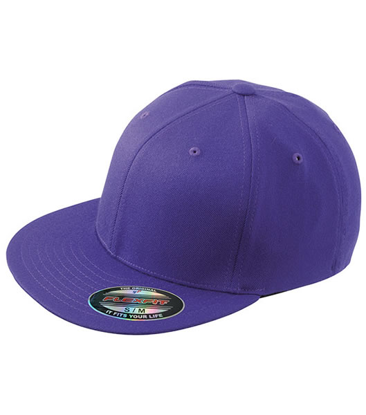 Czapka MB 6184 Flexfit Flatpeak Cap - 6184_purple_MB - Kolor: Purple