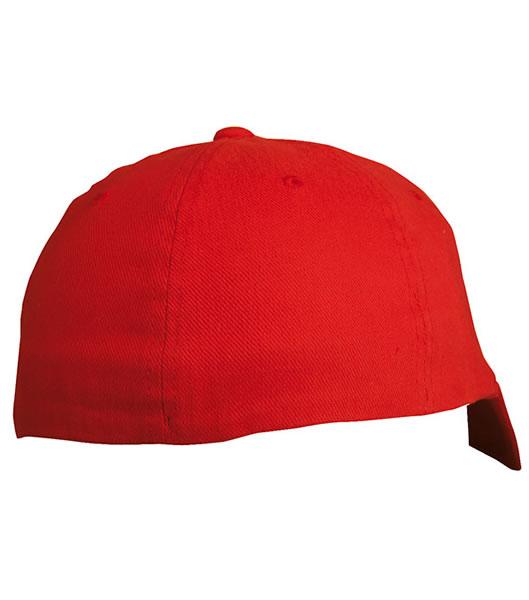 Czapka MB 6184 Flexfit Flatpeak Cap - 6184_detale_MB - Kolor: Red