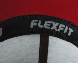 Czapka MB 6184 Flexfit Flatpeak Cap - 6184_detale_MB Red