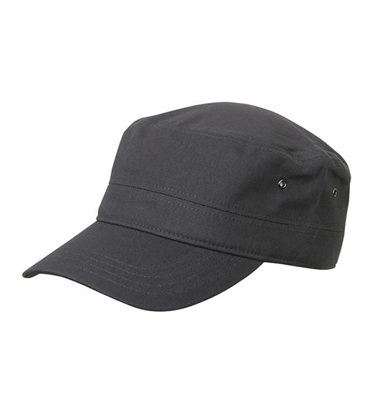 Czapka MB095 MILITARY CAP - 095_anthracite_MB - Kolor: Anthracite