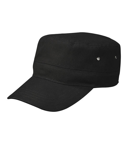 Czapka MB095 MILITARY CAP - 095_black_MB - Kolor: Black