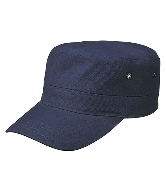 Czapka MB095 MILITARY CAP - 095_navy_MB - Kolor: Navy