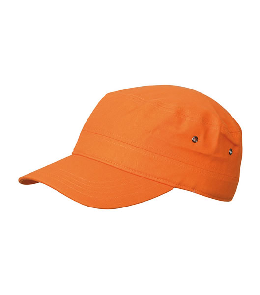 Czapka MB095 MILITARY CAP - 095_orange_MB - Kolor: Orange