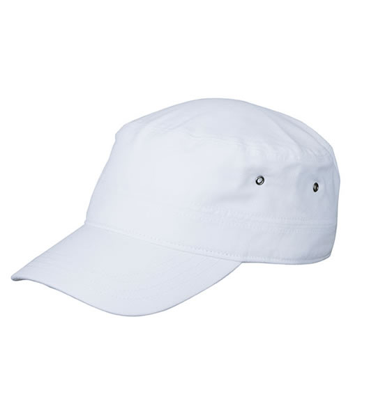 Czapka MB095 MILITARY CAP - 095_white_MB - Kolor: White