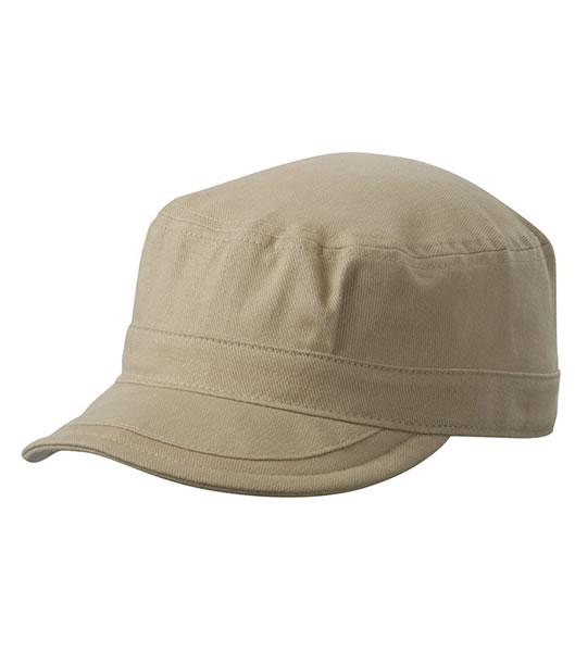 Czapka MB6520 Soft Peak Army Cap - 6520_khaki_MB - Kolor: Khaki