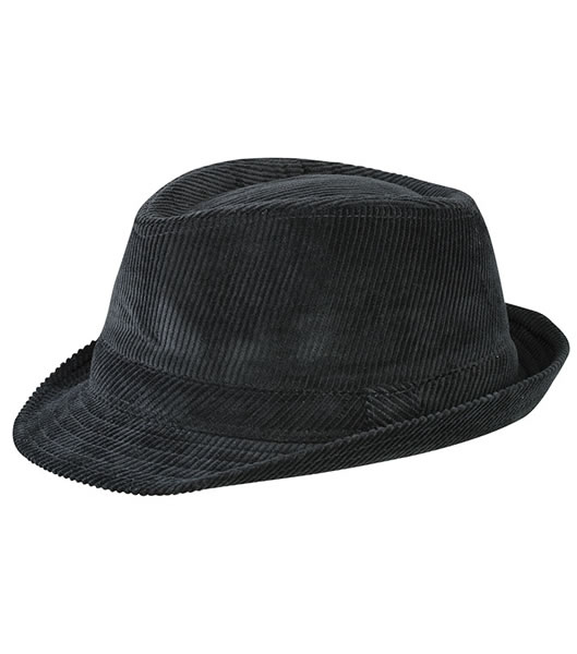Czapka MB6539 Cord Hat - 6539_black_MB - Kolor: Black
