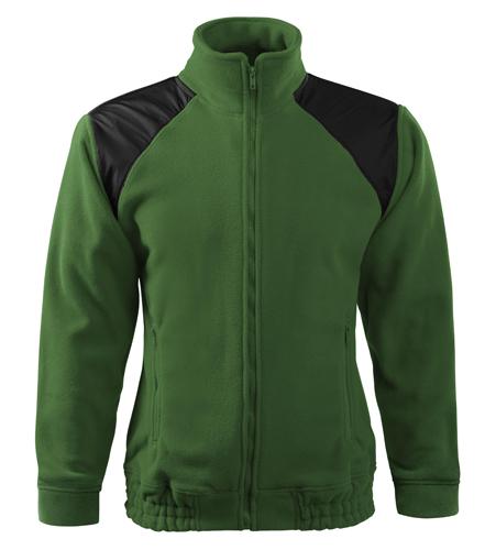 Bluzy polarowe A 506 unisex Hi-Q  - 506_06_A - Kolor: Zieleń butelkowa