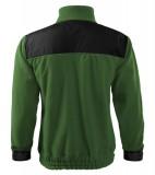 Bluzy polarowe A 506 unisex Hi-Q  - 506_06_B Zieleń butelkowa