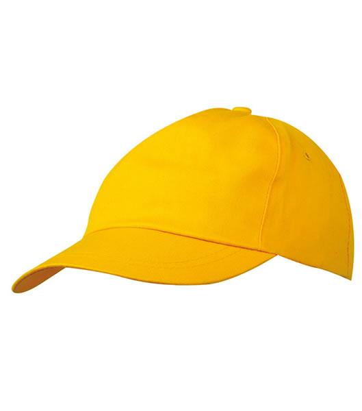 Czapka MB001 5 Panel Promo Cap lightly laminated - 001_gold_yellow_MB - Kolor: Gold yellow